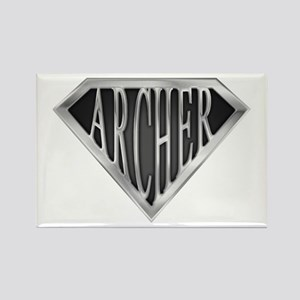 SuperArcher(metal) Rectangle Magnet