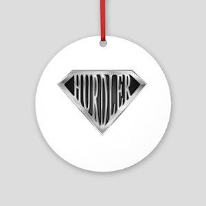 SuperHurdler(metal) Ornament (Round)