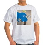Touchy T-Rex Light T-Shirt