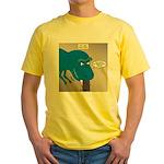 Touchy T-Rex Yellow T-Shirt