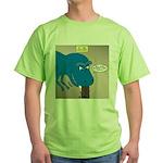 Touchy T-Rex Green T-Shirt