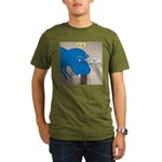 Touchy T-Rex Organic Men's T-Shirt (dark)