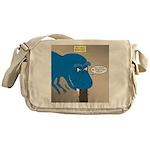 Touchy T-Rex Messenger Bag