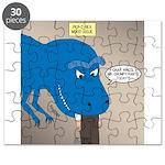 Touchy T-Rex Puzzle