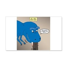 Touchy T-Rex Wall Decal