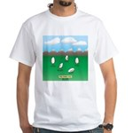 Free-Range Eggs White T-Shirt