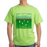 Free-Range Eggs Green T-Shirt
