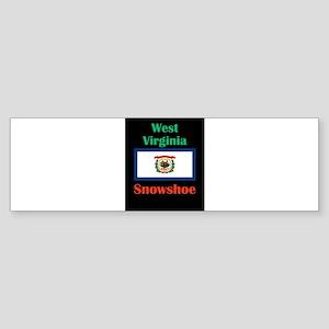 Snowshoe West Virginia Bumper Sticker
