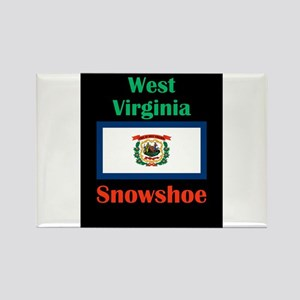 Snowshoe West Virginia Magnets