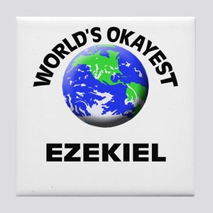 World's Okayest Ezekiel Tile Coaster