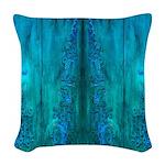 Thailand Sea Woven Throw Pillow