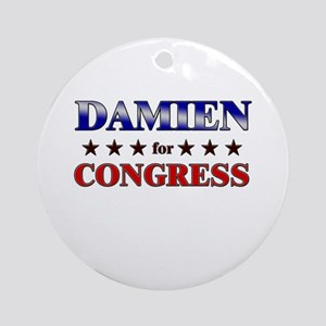 DAMIEN for congress Ornament (Round)
