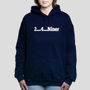2 ...4 ....Niner Women's Hooded Sweatshirt
