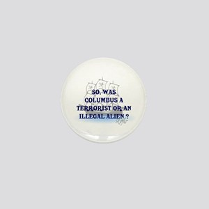 Columbus Question T-Shirts an Mini Button