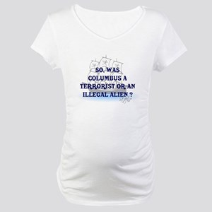 Columbus Question T-Shirts an Maternity T-Shirt