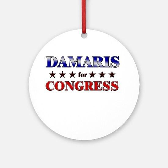 DAMARIS for congress Ornament (Round)