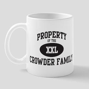 Property of Crowder Family Mug