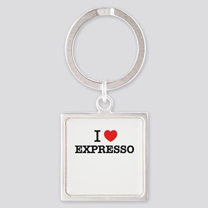I Love EXPRESSO Keychains