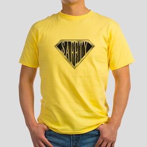 SuperSafety(metal) Yellow T-Shirt