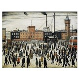Lowry Wrapped Canvas Art