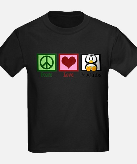 Peace Love Penguins T-Shirt