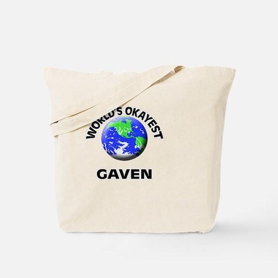 World's Okayest Gaven Tote Bag