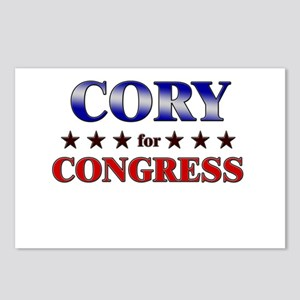 CORY for congress Postcards (Package of 8)