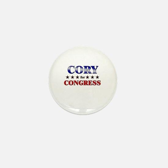 CORY for congress Mini Button