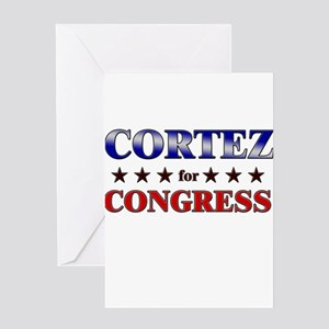 CORTEZ for congress Greeting Card