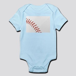 Baseball Stitching Body Suit