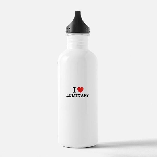 I Love LUMINARY Water Bottle