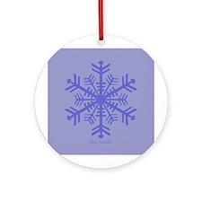 Lavender Flaykey. Ornament (Round)