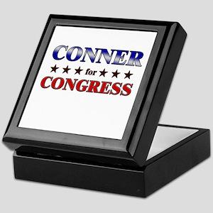 CONNER for congress Keepsake Box