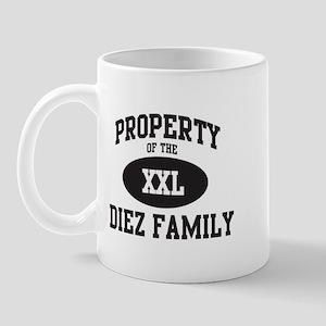 Property of Diez Family Mug