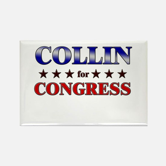 COLLIN for congress Rectangle Magnet