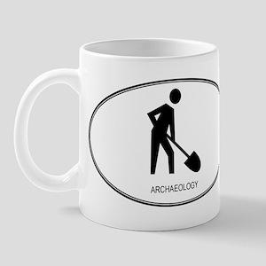 Archaeology (euro-white) Mug