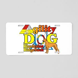 Ridgeback Agility Aluminum License Plate