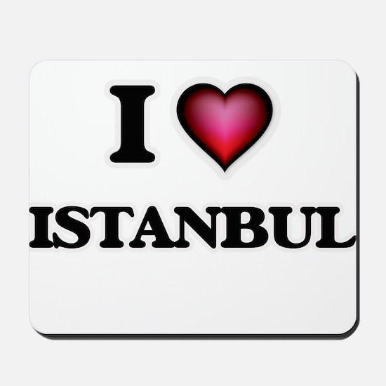 I love Istanbul Turkey Mousepad