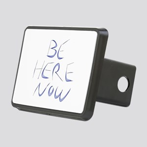Be Here Now Rectangular Hitch Cover