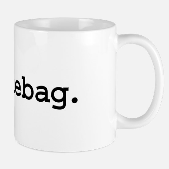 douchebag. Mug