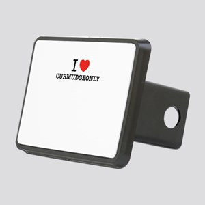 I Love CURMUDGEONLY Rectangular Hitch Cover