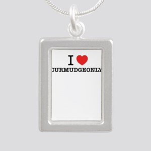 I Love CURMUDGEONLY Necklaces