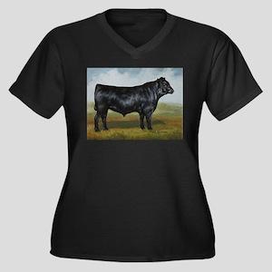 Black Angus Plus Size T-Shirt