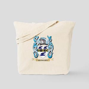 Georgiev Coat of Arms - Family Crest Tote Bag