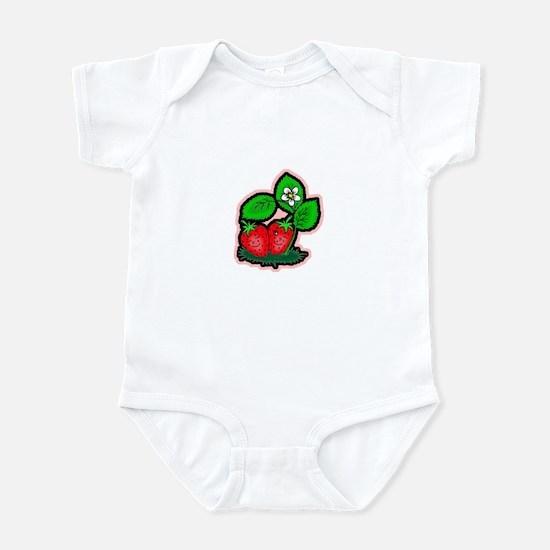 Strawberry Friends Infant Bodysuit