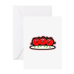 Tomato Friends Greeting Card