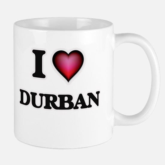 I love Durban South Africa Mugs