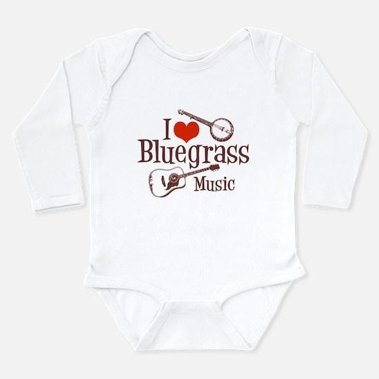 I Love Bluegrass Body Suit
