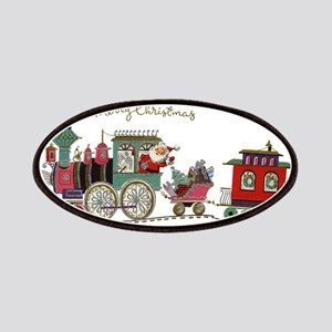 Christmas Santa Toy Train Patch