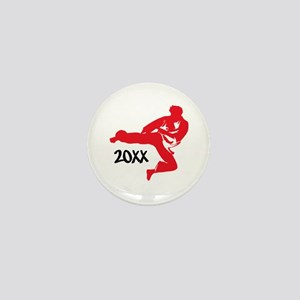 Karate Man Mini Button